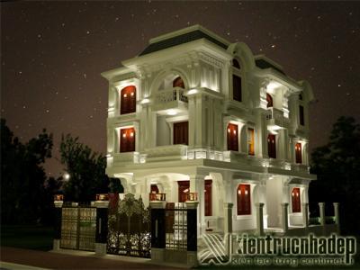 Thiết kế biệt thự - biệt thự cổ điển - Công ty Tư Vấn Thiế Kế Xây Dựng Kiến Trúc Nhà Đẹp